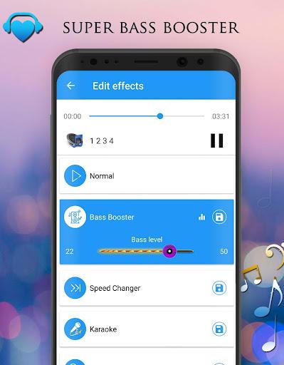 Voice Changer - Audio Effects 1.7.4 Screenshots 4