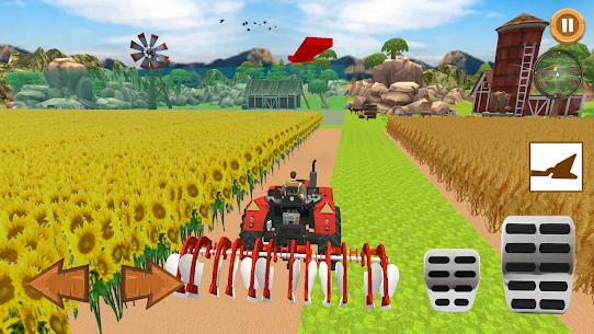 Real Farmer – Tractor Farming Game Simulator 3D Apk 5