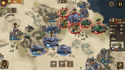 Glory of Generals 3 - WW2 Strategy Game  screenshots 7