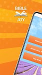 screenshot of Bible Joy: Daily Bible Verses & Inspiration