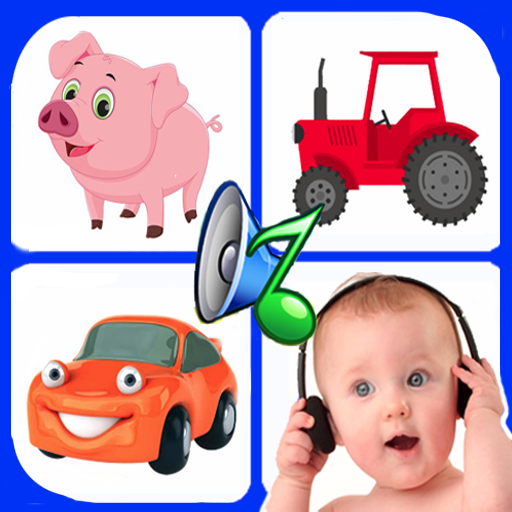 Sound for kids. Baby touch sound. Laugh & cry