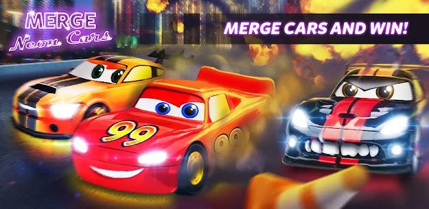 Merge Neon Car  Car Merger Apk Download 2021 1