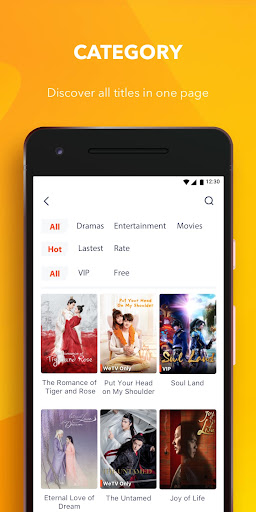WeTV - Cdrama, Kdrama & More android2mod screenshots 4