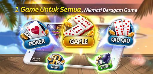Domino Luxy Domino Poker Gaple Qiuqiu Remi Apps On Google Play