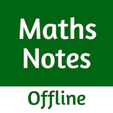 Maths Notes for JEE Offline icon