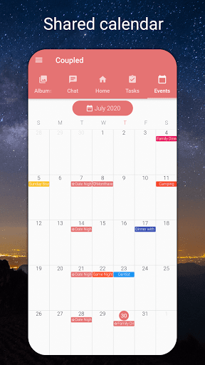 Coupled - Relationship Tracker, Love Days Calendar  screenshots 5
