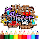 Graffiti Coloring Book   FREE Coloring APK