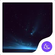 Quiet Starry Night Sky-APUS Launcher stylish theme