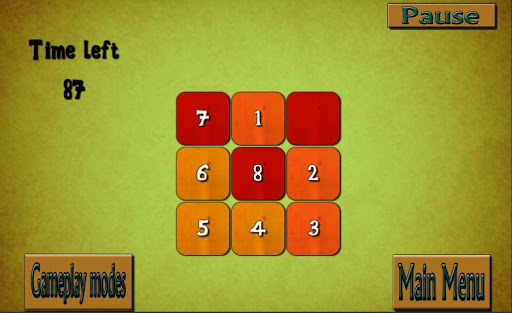 shuffle puzzle – number puzzle brain teaser screenshot 2