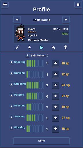 Hoop League Tactics  screenshots 8