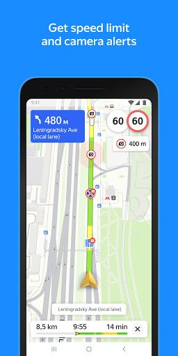 Yandex.Maps u2013 Transport, Navigation, City Guide android2mod screenshots 3
