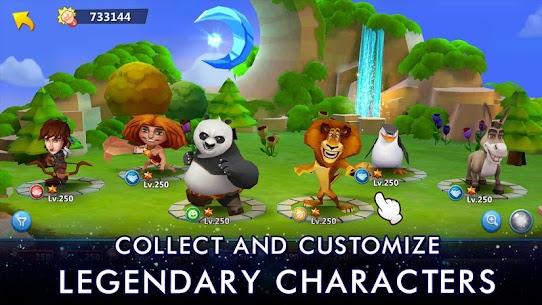 Baixe DreamWorks Universe of Legends Mod Apk Última Versão – {Atualizado Em 2021} 2