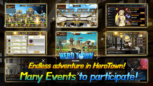Hero Town online : 2D MMORPG 4.37 screenshots 3