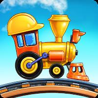 子供の幼稚園のための列車ゲームの学習