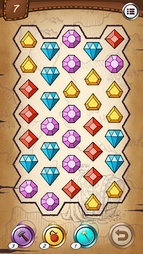 Jewels and gems - match jewels puzzle 1.3.0 screenshots 3