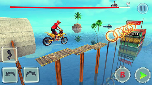 Bike Stunt Race 3d Bike Racing Games - Free Games apkpoly screenshots 2