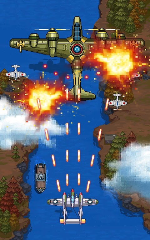 1945 Air Force: Airplane Shooting Games - Free  poster 6