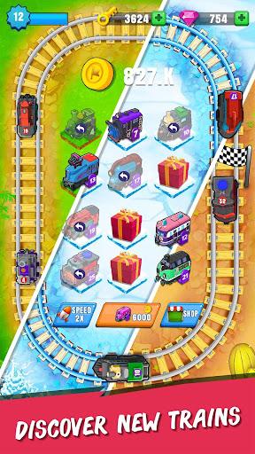 Merge Train Station Manger: Idle Tycoon Game  screenshots 1