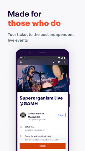 Eventbrite - Discover popular events & nearby fun Apkfinish screenshots 1