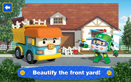 Robocar Poli: Builder! Games for Boys and Girls!  screenshots 14