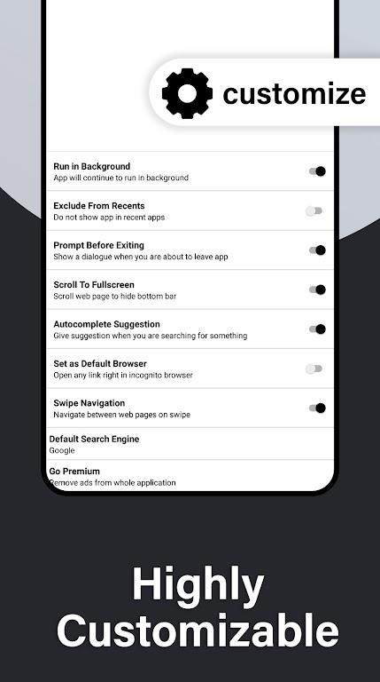 Incognito Browser Pro - Complete Private Browser  poster 6
