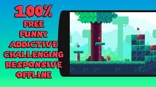 Appfy 2D Adventure - Hard one tap jump and run 1.2 screenshots 4