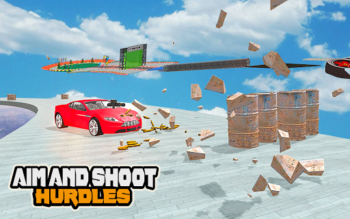 Mega Car Ramp Impossible Stunt Game  Screenshots 3