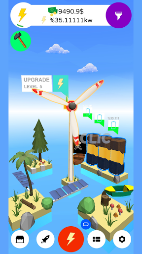 Wind Inc. Tycoon - Idle Game Windmill Simulation  screenshots 7