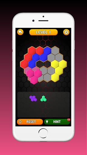 Code Triche Hex Block! Hexa Match Puzzle Game APK MOD (Astuce) screenshots 1
