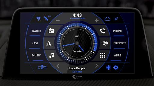 AGAMA Car Launcher 2.6.0 Screenshots 6