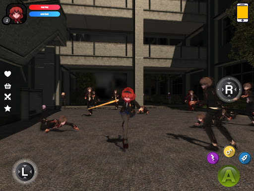 Dead School - Anime Zombie Survival Horror RPG 5.4 screenshots 13