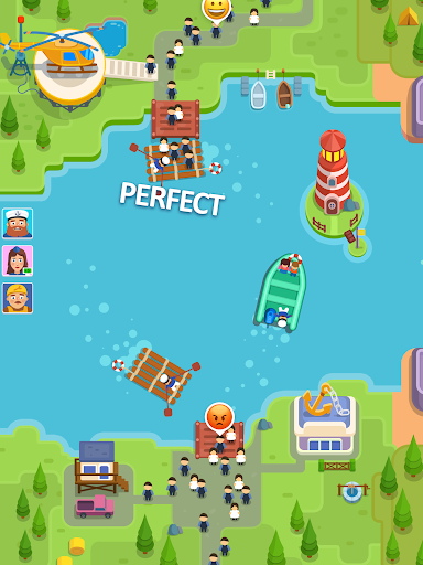 Idle Ferry Tycoon - Clicker Fun Game android2mod screenshots 5