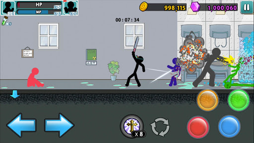 Anger of stick 5 : zombie 1.1.33 screenshots 18