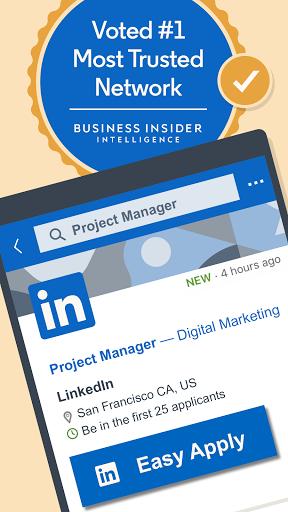 LinkedIn: Jobs, Business News & Social Networking 4.1.545 screenshots 1