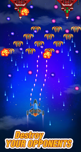 galaxy spaceship shooter - sky shooting game screenshot 2