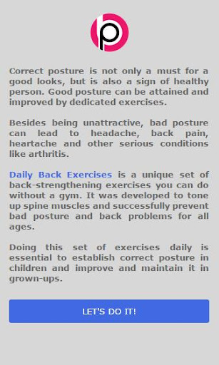 Daily Back Exercises For PC Windows (7, 8, 10, 10X) & Mac Computer Image Number- 6