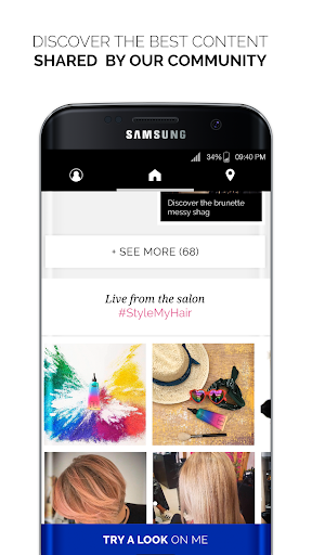 Style My Hair: Discover Your Next Look modavailable screenshots 2