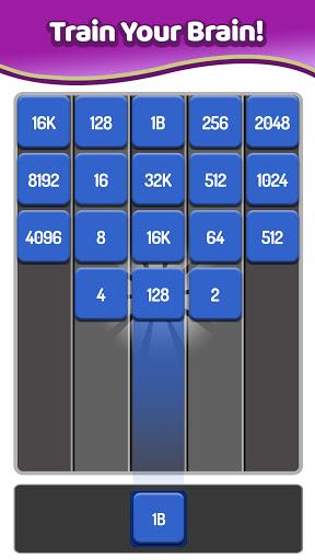 Merge Numbers - 2048 Blocks Puzzle Game screenshots 6