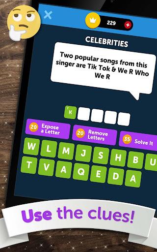 Crossword Quiz - Crossword Puzzle Word Game! 3.85g screenshots 13
