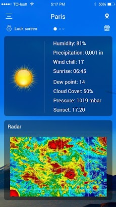 天気予報のおすすめ画像5