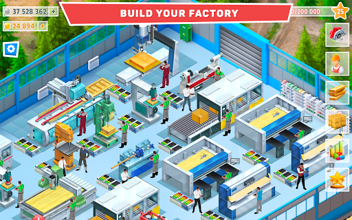 Timber Tycoon - Factory Management Strategy 1.1.1 screenshots 6