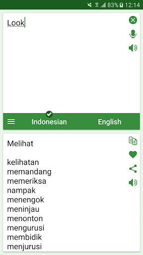 Indonesian - English Translato 4.7.4 Screenshots 3