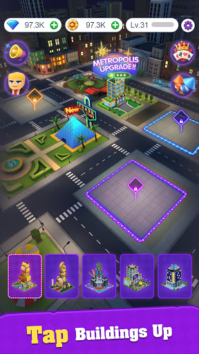 Crazy Night:Idle Casino Tycoon screenshots 2