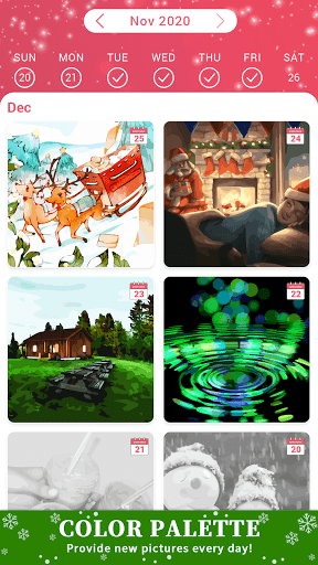 Color Palette - Oil Painting Color by Number screenshots 4