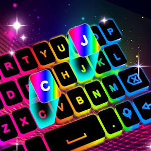 Neon LED Keyboard  RGB Lighting Colors