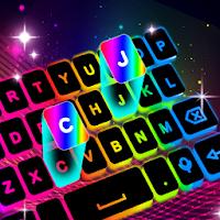 Неоновая светодиодная клавиатура - цвета подсветки
