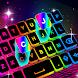ネオンLEDキーボード-RGB照明色