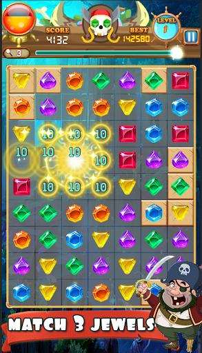Jewel Pirates - Match 3 screenshots 2