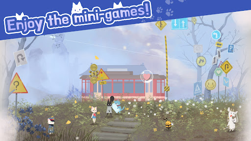 Cat Shelter and Animal Friends: Idle Relaxing Game  screenshots 3