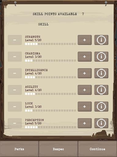 u2622 The Wanderer - Post-Apocalyptic RPG Survival  screenshots 13